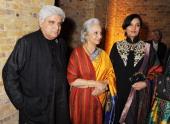 Javed Akhtar Waheeda Rehman and Shabana Azmi attend a Fashion Gala fundraiser hosted by the Akshaya Patra Foundation for underpriveleged children in...