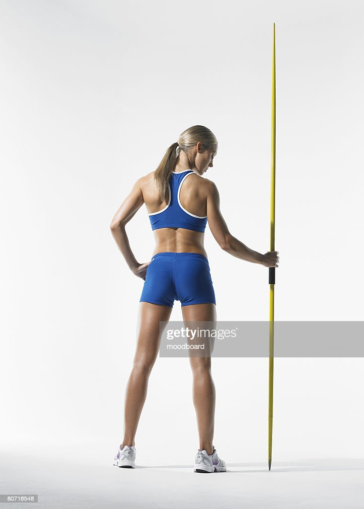 Javelin Thrower : Stock Photo