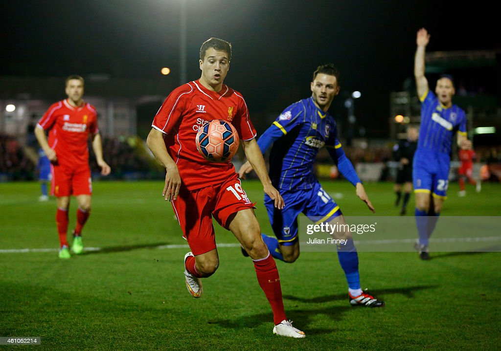 AFC Wimbledon v Liverpool - FA Cup Third Round : News Photo