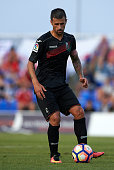 Javi Marquez of Granada controls the ball during the friendly match between Granada CF and Bristol City at Pinatar Arena Stadium on July 20 2016 in...