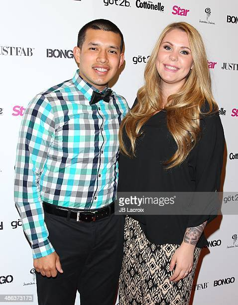 Javi Marroquin and Kailyn Lowry attend the Star Magazine's Annual Hollywood Rocks event on April 23 2014 in Hollywood California