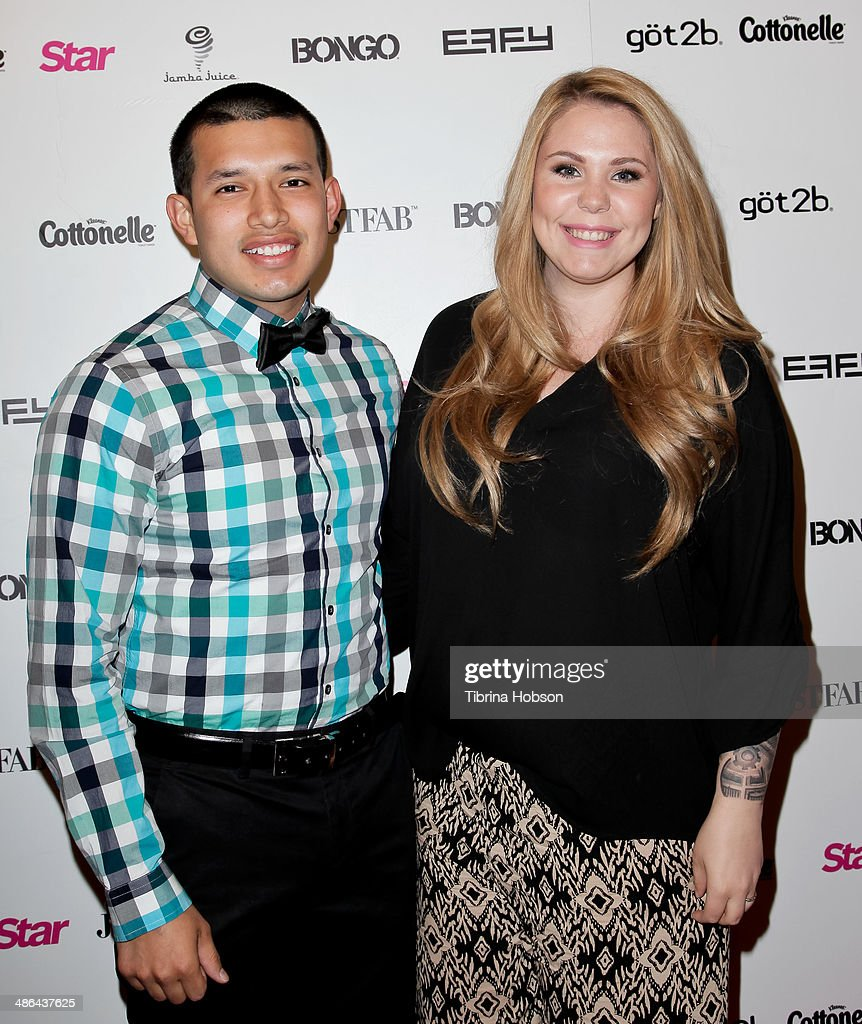 <a gi-track='captionPersonalityLinkClicked' href=/galleries/search?phrase=Javi+Marroquin&family=editorial&specificpeople=12760996 ng-click='$event.stopPropagation()'>Javi Marroquin</a> and 'Teen Mom' <a gi-track='captionPersonalityLinkClicked' href=/galleries/search?phrase=Kailyn+Lowry&family=editorial&specificpeople=8710153 ng-click='$event.stopPropagation()'>Kailyn Lowry</a> attend Star Magazine's 'Hollywood Rocks' party 2014 at SupperClub Los Angeles on April 23, 2014 in Los Angeles, California.