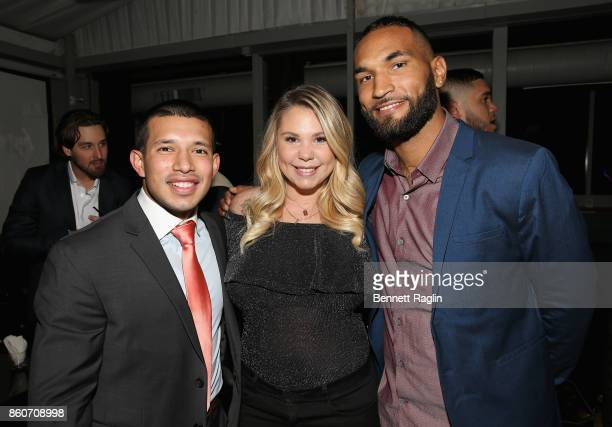 Javi Marroquin Kailyn Lowry and DeAndre Perry attend the exclusive premiere party for Marriage Boot Camp Reality Stars Season 9 hosted by WE tv on...