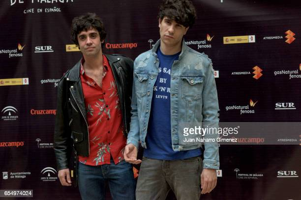 Javier Ambrossi and Javier Calvo attends photocall during the 20th Malaga Film Festival 2017 at UMA Rectorado on March 18 2017 in Malaga Spain