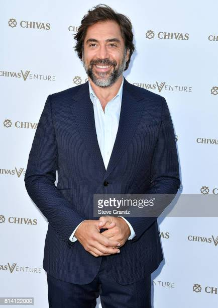 Javier Bardem arrives at the Chivas Regal 'The Final Pitch' at LADC Studios on July 13 2017 in Los Angeles California