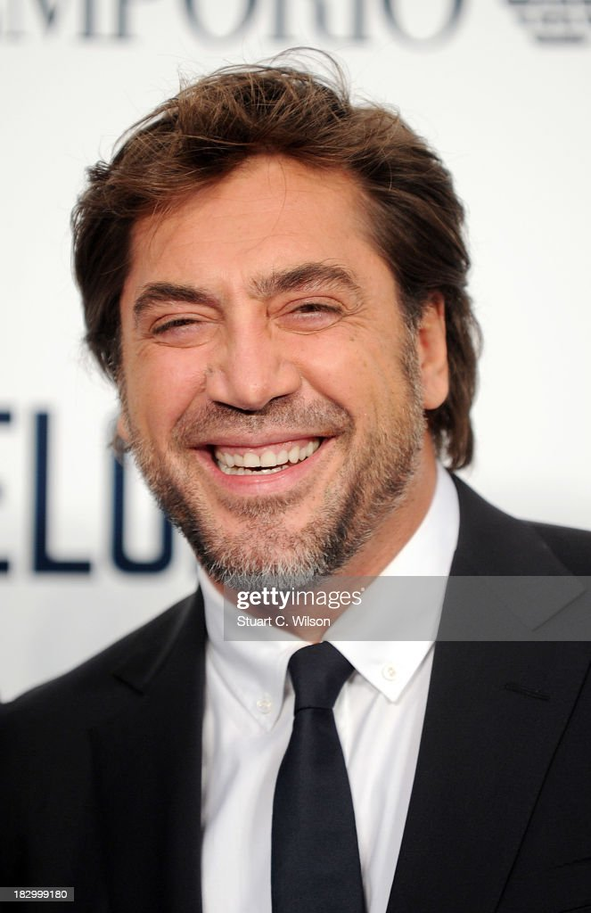 <a gi-track='captionPersonalityLinkClicked' href=/galleries/search?phrase=Javier+Bardem&family=editorial&specificpeople=209334 ng-click='$event.stopPropagation()'>Javier Bardem</a> attends a special screening of 'The Counselor' at Odeon West End on October 3, 2013 in London, England.