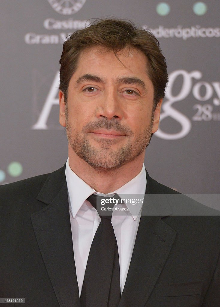 Javier Bardem attends Goya Cinema Awards 2014 at Centro de Congresos Principe Felipe on February 9, 2014 in Madrid, Spain.