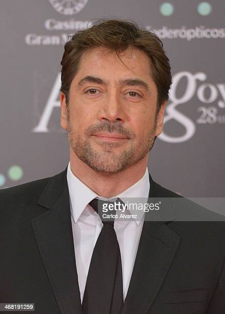 Javier Bardem attends Goya Cinema Awards 2014 at Centro de Congresos Principe Felipe on February 9 2014 in Madrid Spain