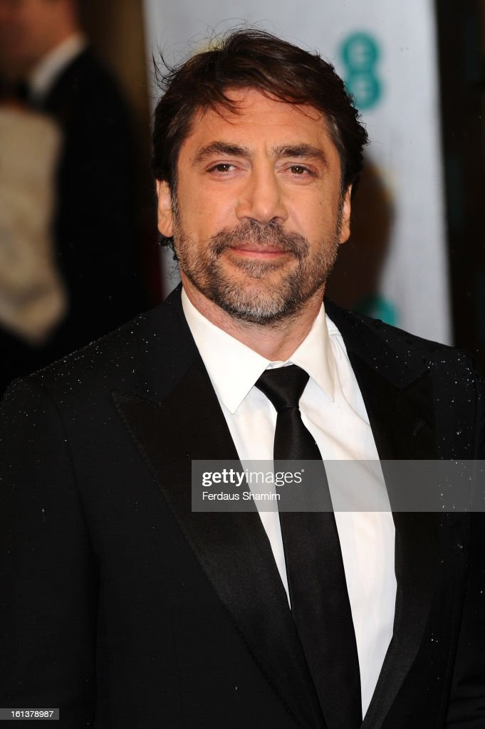 Javier Bardem attends the EE British Academy Film Awards at The Royal Opera House on February 10, 2013 in London, England.