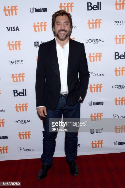 Javier Bardem attends the 'Loving Pablo' premiere during the 2017 Toronto International Film Festival at Princess of Wales Theatre on September 12...