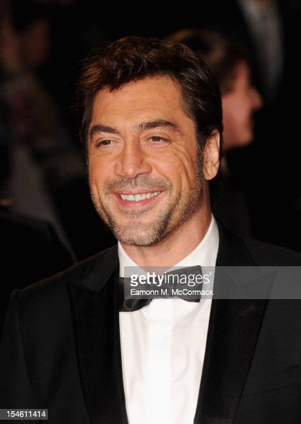 Javier Bardem attends the Royal World Premiere of 'Skyfall' at the ... Javier Bardem