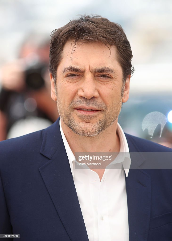 Javier Bardem attends the 'The Last Face' Photocall at the annual 69th Cannes Film Festival at Palais des Festivals on May 20, 2016 in Cannes, France.