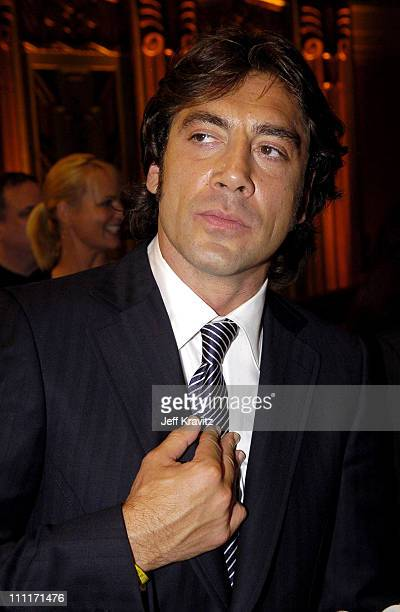 Javier Bardem during 10th Annual Critics' Choice Awards Audience and Backstage at Wiltern LG Theater in Los Angeles California United States