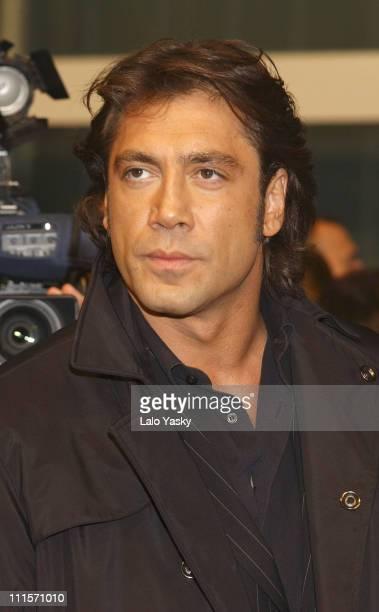 Javier Bardem during 2005 Spanish Academy of Cinematography Goya Awards at Madrid in Madrid Spain