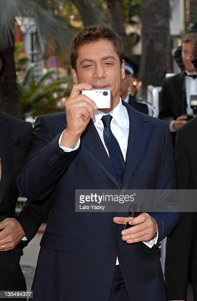 Javier Bardem during 2007 Cannes Film Festival 'No Country for Old Men' Premiere at Palais des Festival in Cannes France
