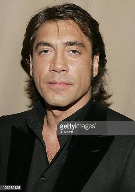 Javier Bardem during Glamour/Miramax Post Golden Globe Awards Party at Beverly Hills Hilton in Beverly Hills California United States