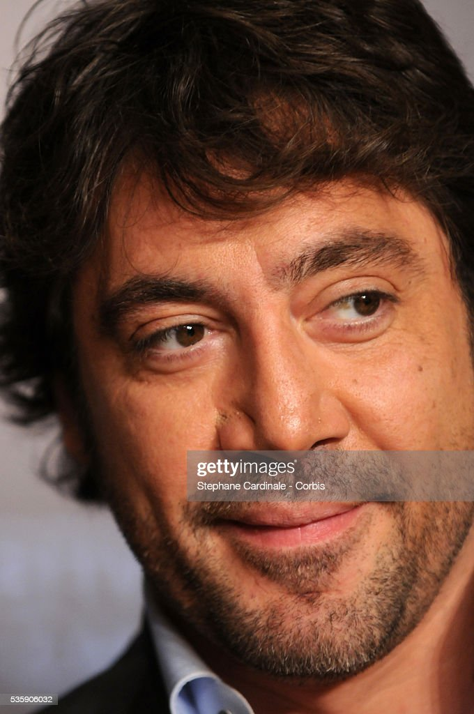 Javier Bardem during the press conference of 'Biutiful' at the 63rd Cannes International Film Festival