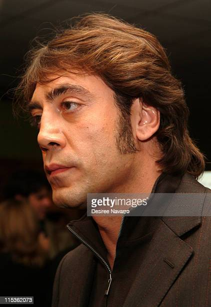 Javier Bardem during 'The Sea Inside' New York City Premiere at United Artist Theatre in New York City New York United States