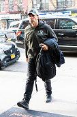 Celebrity Sightings In New York City - January 12, 2019