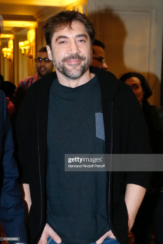 Javier Bardem Presents 'Sons Of The Clouds: The Last Colony' Documentary In Paris
