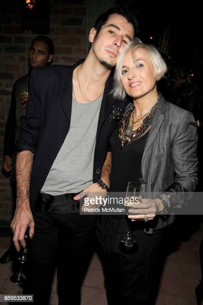 Javier BoneCarbone and Yolanda Torrubia attend GUCCI Afterparty for the 'Gucci IconTemporary' New York Store Opening at Bowery Hotel on October 23...
