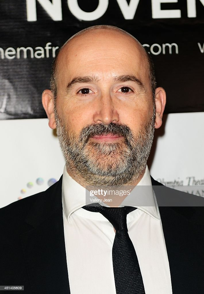 Javier Camara attends Cinema From Spain Film Festival at Gusman Center for the Performing Arts on November 21, 2013 in Miami, Florida.