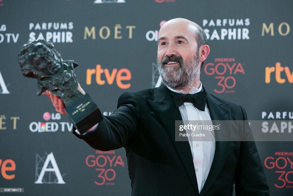 Goya Cinema Awards 2016 - Press Room