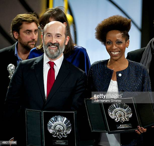 Javier Camara Silver Shell for Best Actor for the film 'Truman' and Yordanka Ariosa Silver Shell for Best Actress for the film 'El Rey de la Habana '...