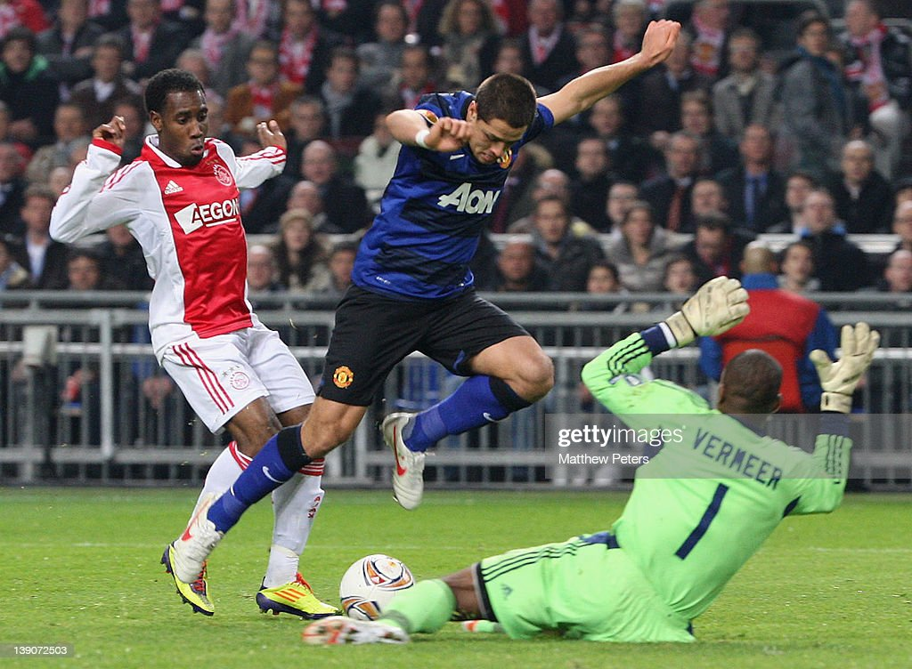 AFC Ajax v Manchester United FC - UEFA Europa League Round of 32