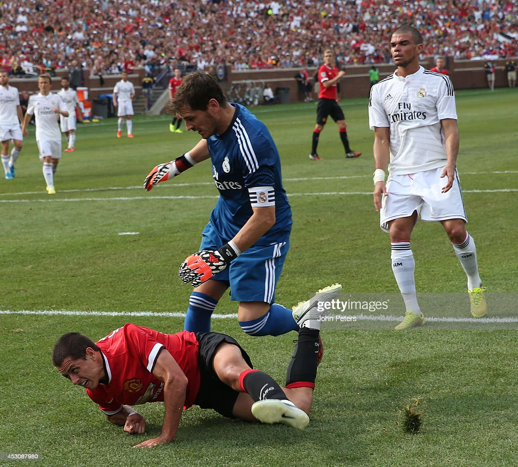 Javier Hernandez Real Madrid: International Champions Cup 2014