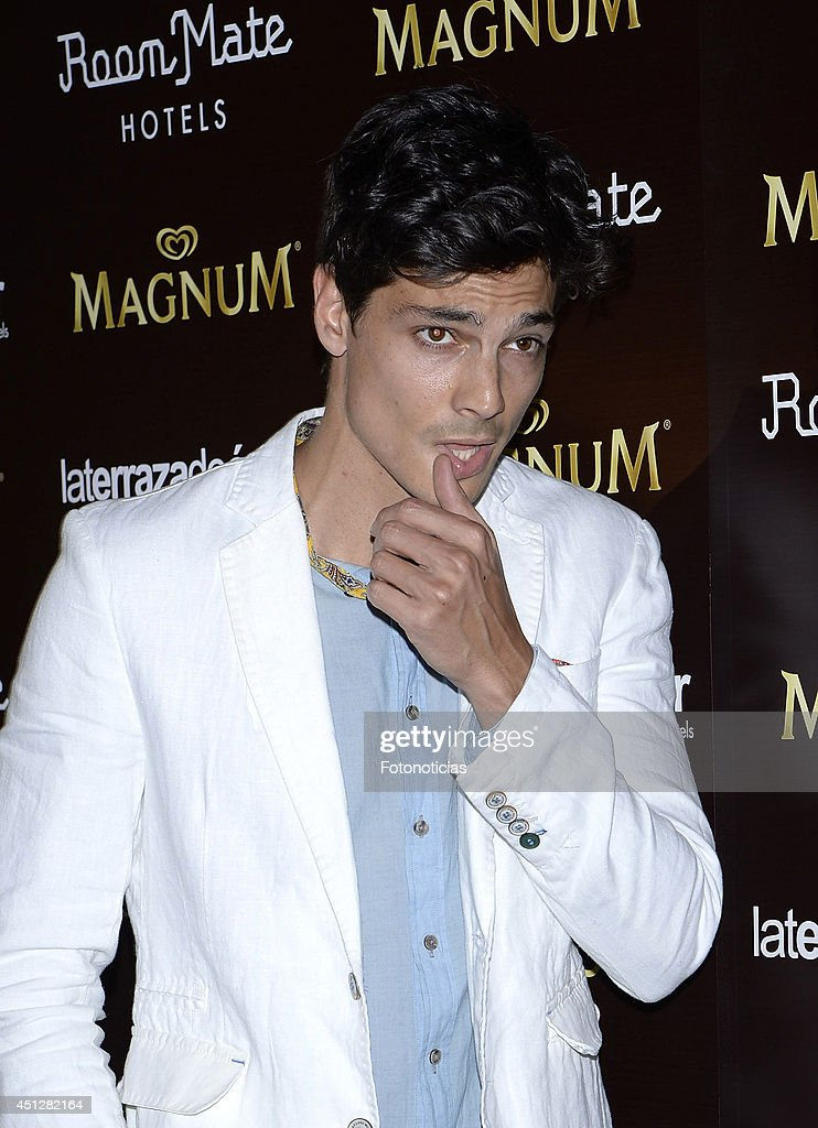 <a gi-track='captionPersonalityLinkClicked' href=/galleries/search?phrase=Javier+de+Miguel&family=editorial&specificpeople=4392315 ng-click='$event.stopPropagation()'>Javier de Miguel</a> attends the 'Chocolate Opening Party By Magnum' at the Room Mate Oscar Hotel on June 26, 2014 in Madrid, Spain.