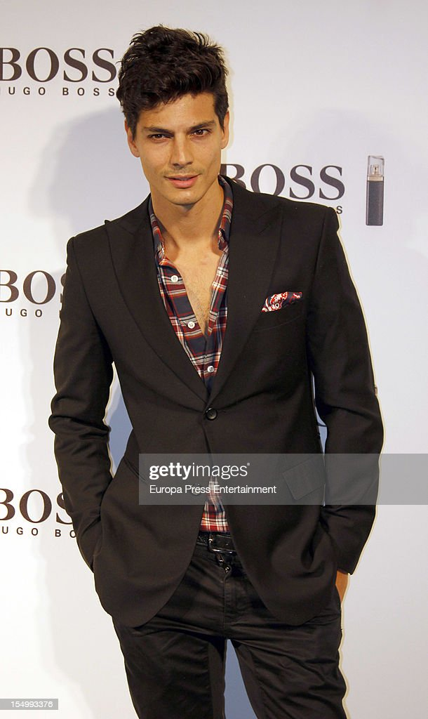 <a gi-track='captionPersonalityLinkClicked' href=/galleries/search?phrase=Javier+de+Miguel&family=editorial&specificpeople=4392315 ng-click='$event.stopPropagation()'>Javier de Miguel</a> attends the launch of 'Boss Nuit Pour Femme' fragrance on October 29, 2012 in Madrid, Spain.