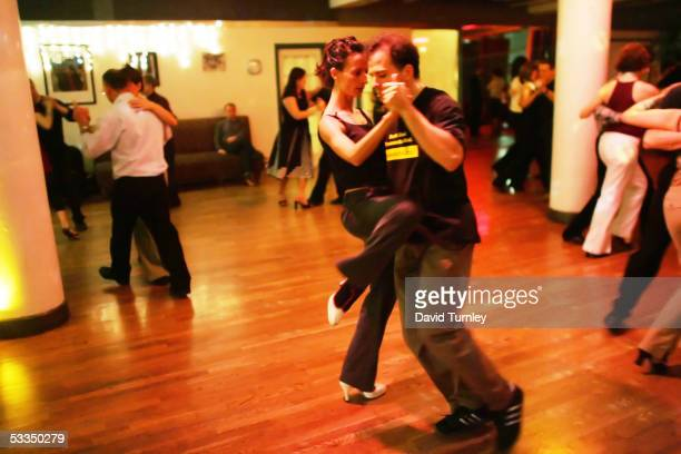 Javier Garcia and Moira Sauvane dance the tango June 1 2005 in New York City Javier Garcia an ArgentinianAmerican and a thirdyear psychiatric...