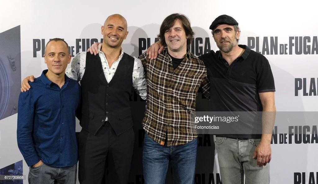 'Plan de Fuga' Madrid Photocall