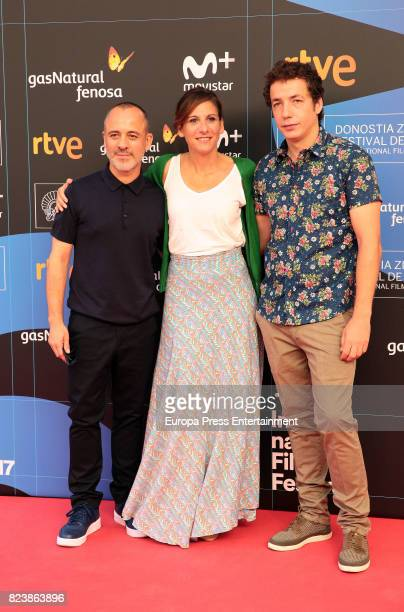 Javier Gutierrez and Malena Alterio attend the presentation of San Sebastian Film Festival 2017 programme on July 28 2017 in Madrid Spain