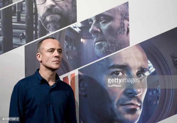 Javier Gutierrez attends a photocall for 'Plan de Fuga' at NH Collection Madrid Suecia Hotel on April 25 2017 in Madrid Spain