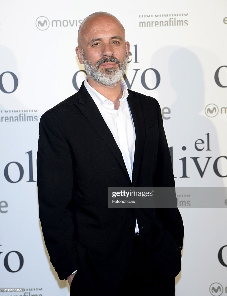 Javier Gutierrez attends the premiere of 'El Olivo' at the Capitol cinema on May 4, 2016 in Madrid, Spain.