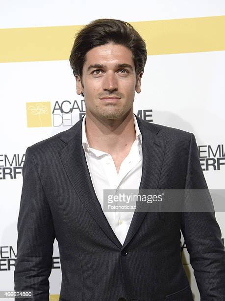 Javier Hernanz attends the 'Academia del Perfume' 2015 Awards at Casa de America on March 17 2015 in Madrid Spain