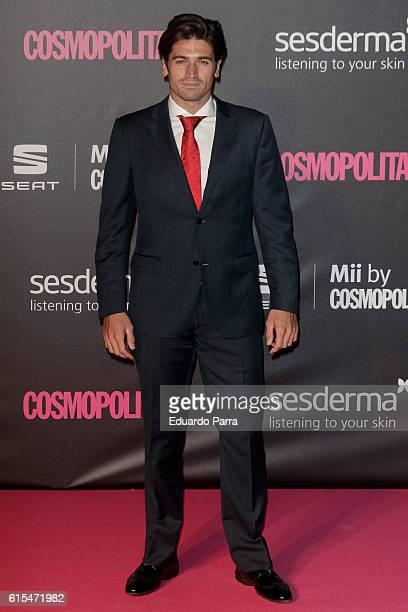 Javier Hernanz attends the 'Cosmopolitan Fun Fearless Female' awards 2016 at La Riviera Disco on October 18 2016 in Madrid Spain