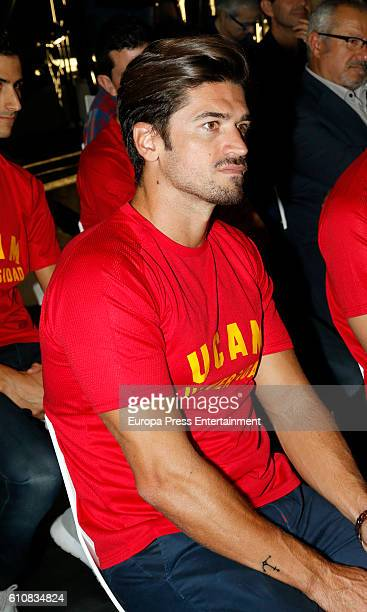 Javier Hernanz attends the homage from Spanish Olympic Committee to Spanish Olympic medalists in Rio 2016 on September 27 2016 in Madrid Spain