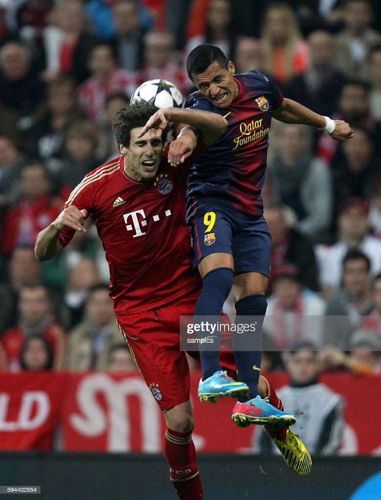 Soccer UEFA Champions League Semi Final First Leg Bayern