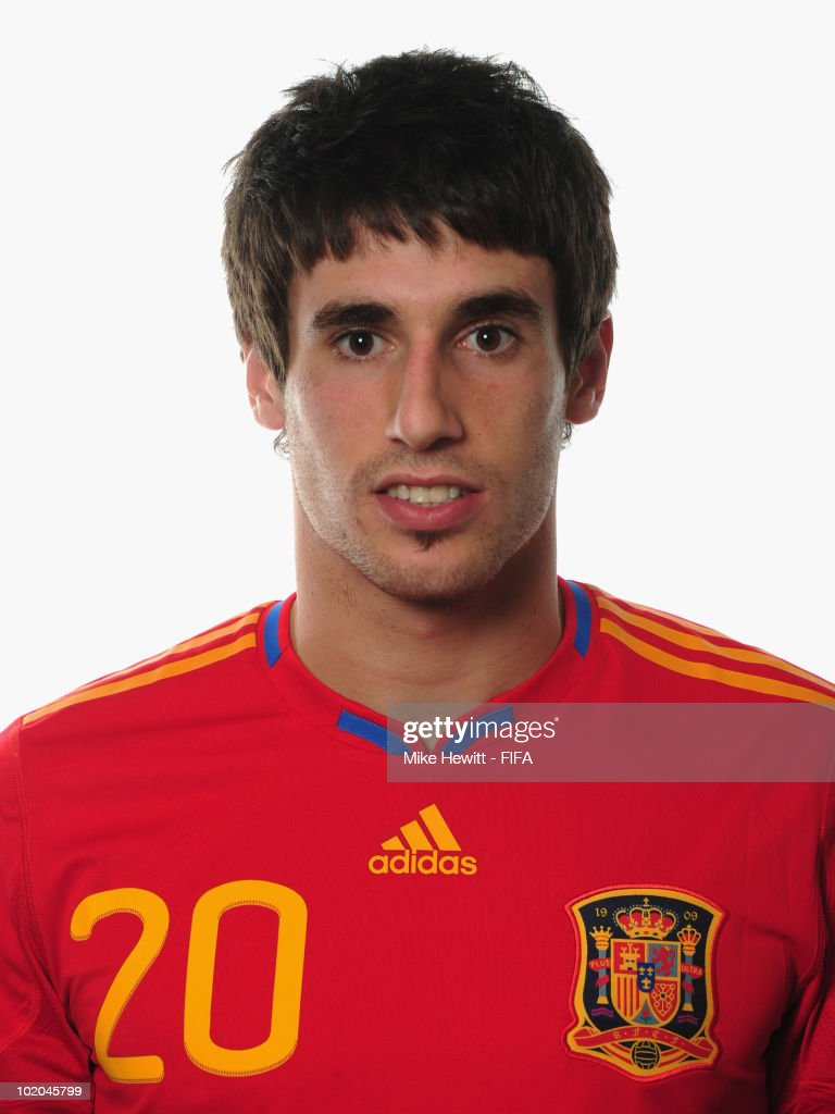 Javier Martinez of Spain poses during the official Fifa World Cup 2010 portrait session on June 13, 2010 in Potchefstroom, South Africa.