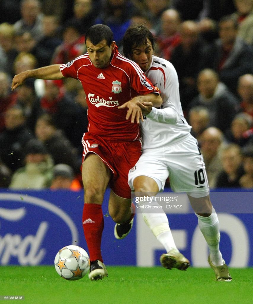 Soccer UEFA Champions League Group A Liverpool v Besiktas