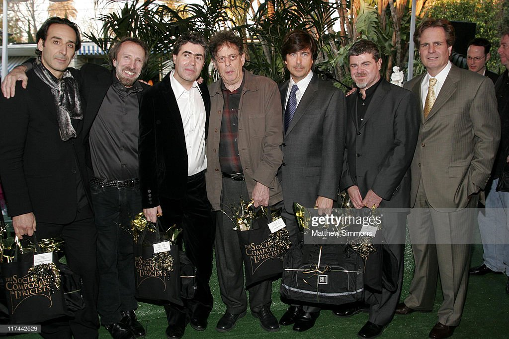 Javier Navarrete, Philip Glass, Thomas Newman and Gustavo Santaolalla