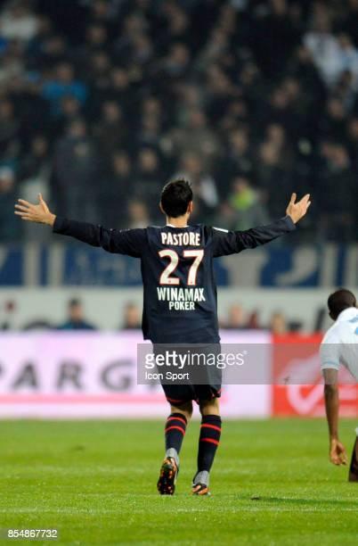 Javier PASTORE Marseille / PSG 15eme Journee de Ligue 1