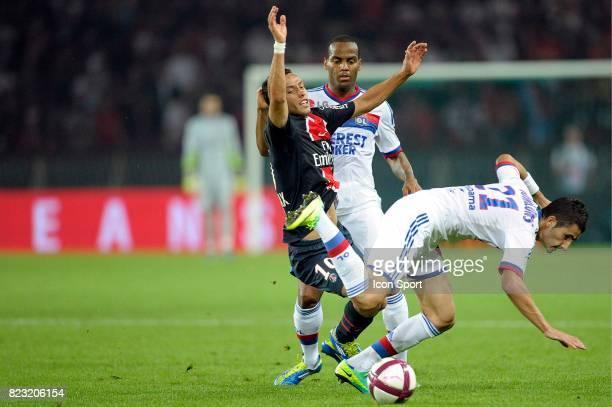 Javier PASTORE Maxime GONALONS Paris Saint Germain / Lyon 9e journee Ligue 1