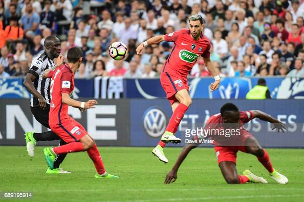 Javier Pastore of PSG during the National Cup Final match between Angers SCO and Paris Saint Germain PSG at Stade de France on May 27 2017 in Paris...