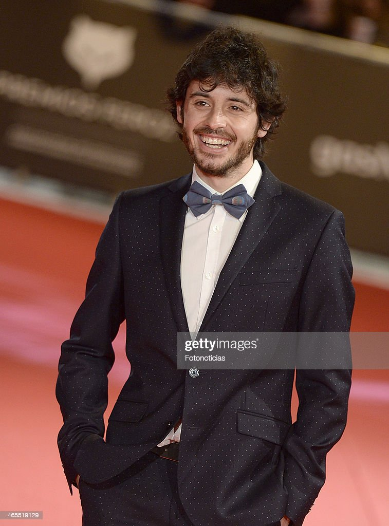 Javier Pereira attends 'Feroz Awards 2014' at Callao Cinema on January 27, 2014 in Madrid, Spain.