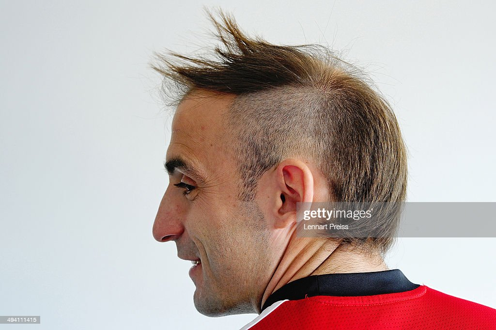 Javier Pinola of 1 FC Nuernberg poses during a portrait session on March 14 2014 in Nuremberg Germany