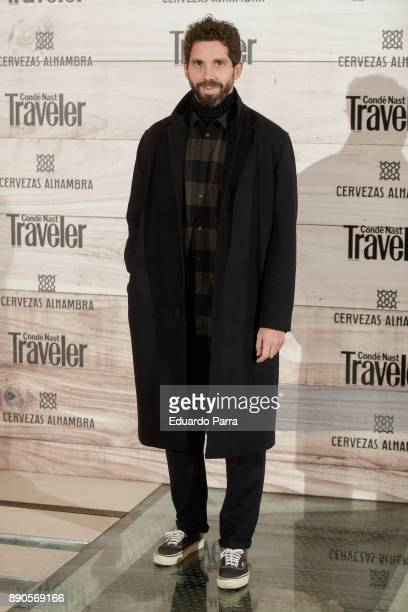 Javier Sanchez Medina attends the 'Conde Nast Traveler Gastronomic and Wine Guide' photocall at Florida Retiro on December 11 2017 in Madrid Spain